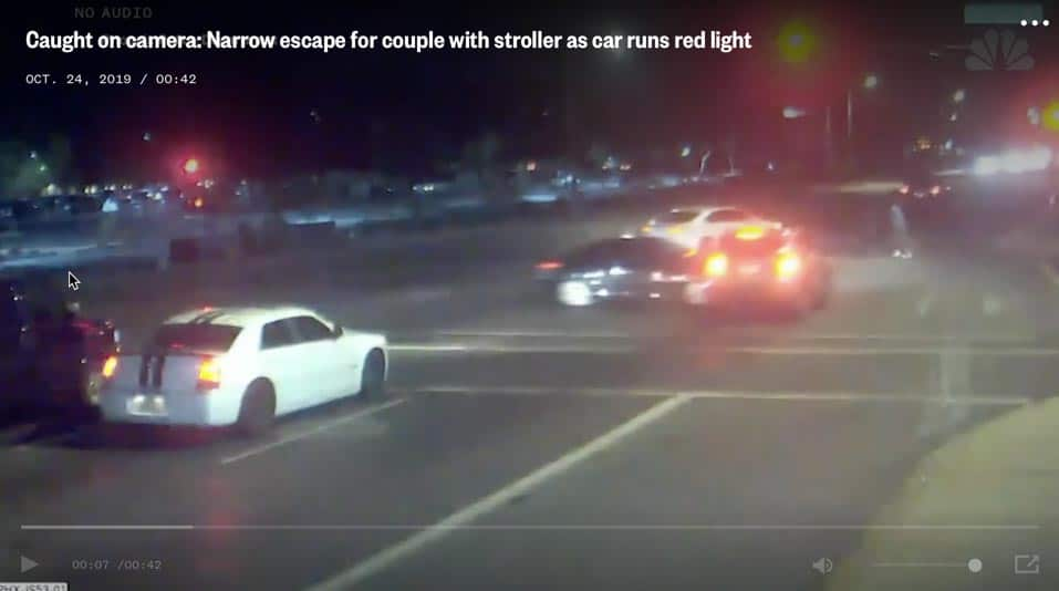 Phoenix Couple Almost Killed By Red Light Runner (See Video)
