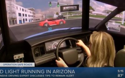 Maria Wojtczak discusses the dangers of red light running with ABC 15 after 5 individuals die in Red Light Running accidents in less than 30 days