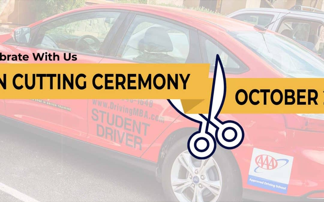 DrivingMBA's West Valley Teen Driving School Officially Opens with Ribbon Cutting Ceremony