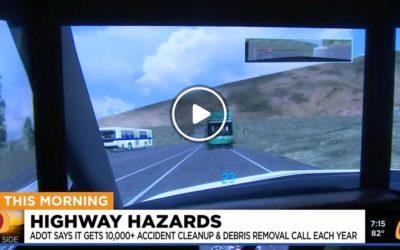 Avoiding Debris and Hazards on Arizona Highways