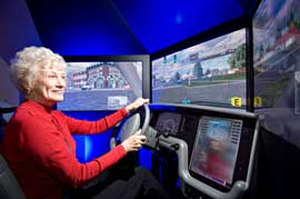 Driver training on the L3 simulator