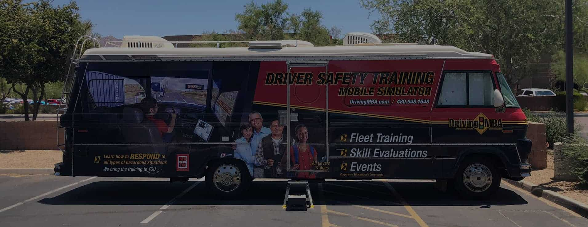 Mobile Driver Training Unit